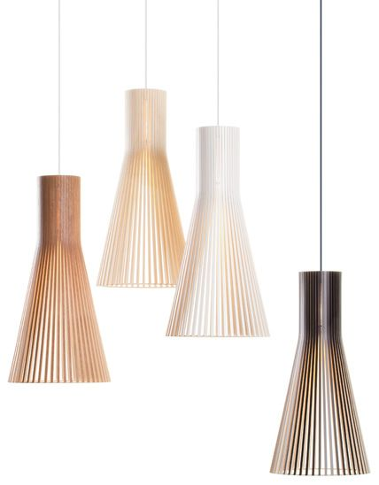 Gorgeous pendant lights from Finnish company Secto design