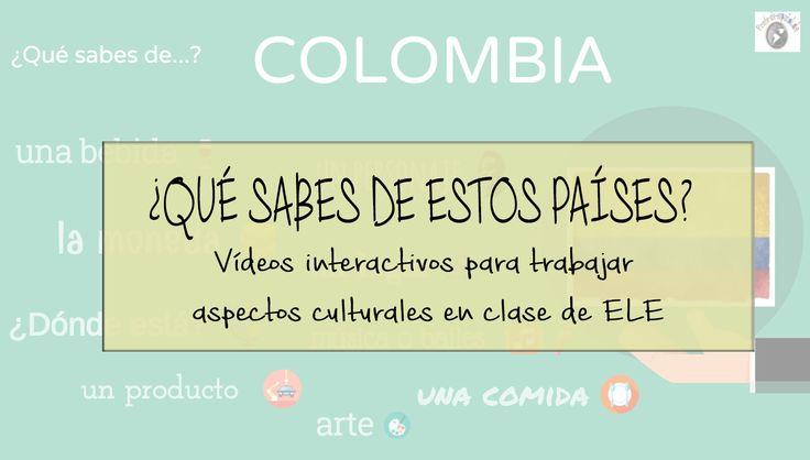 Desde hace algún tiempo quería llevar a clase un vídeo para trabajar aspectos culturales de los países hispanohablantes. Mi idea era crear dos vídeos para el tema. Uno para despertar conocim…