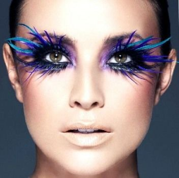 Indigo Extreme makeup! LOVE LOVE LOVE @KristianandSwade Nightengale