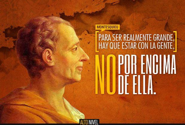 Frase del día: Montesquieu