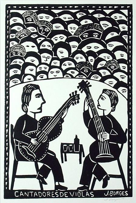 J. Borges. Cantadores de violas