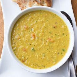 Curried Lentil Soup - thecozyapron