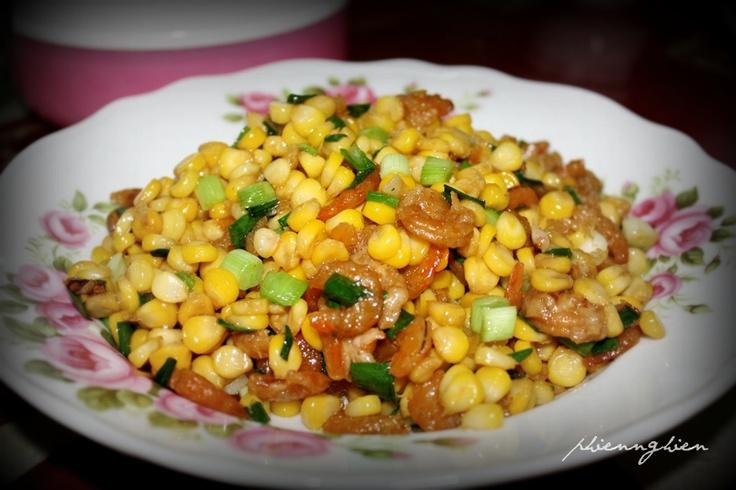 Wok corn