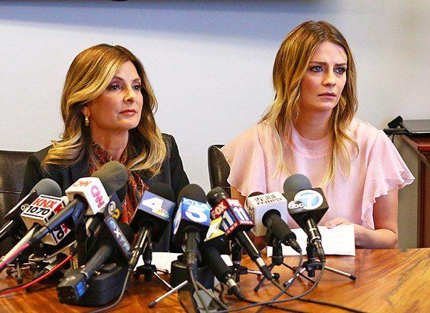Миша Бартон дала пресс-конференцию в разгар порноскандала со своим участием