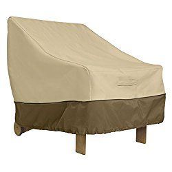 Fancy Classic Accessories Veranda Patio Deep Seat Lounge Chair Cover Durable and Water Resistant Outdoor Furniture Cover