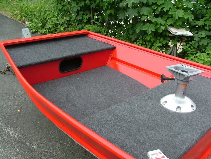 This Is The 1964 Jon Boat That I Bought W Trailer For