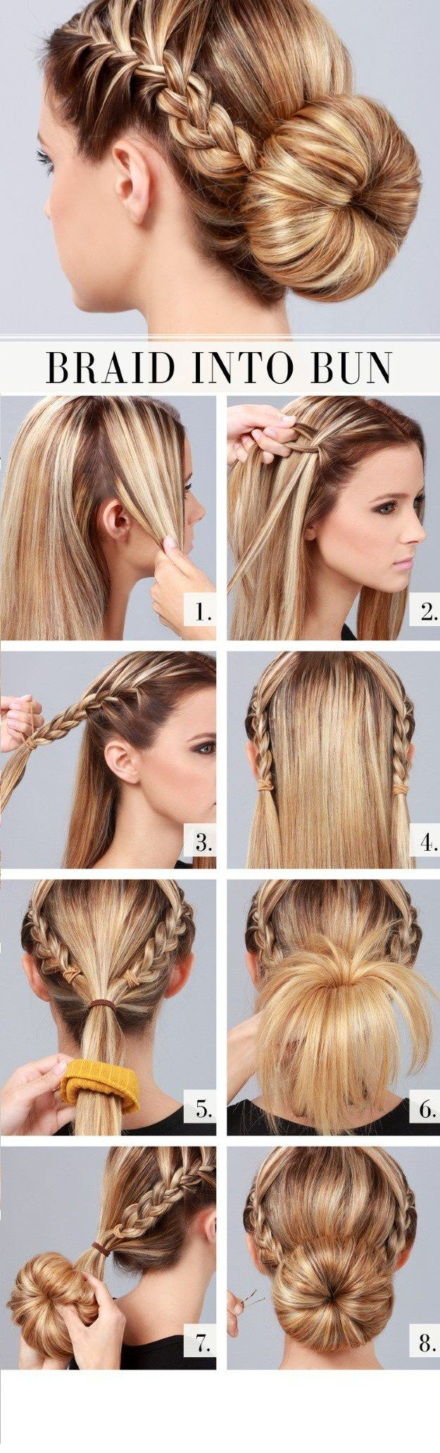 prom hairstyles tutorials