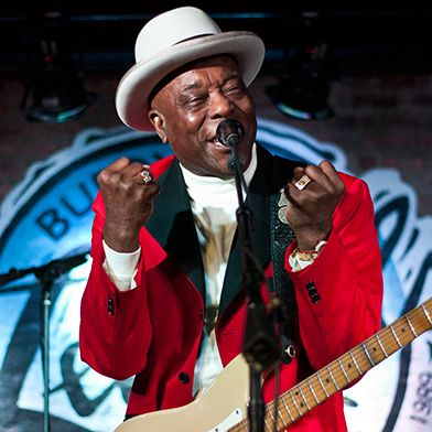 Information about legendary Grammy winning bluesman Buddy Guy :: Buddy Guy's Legends