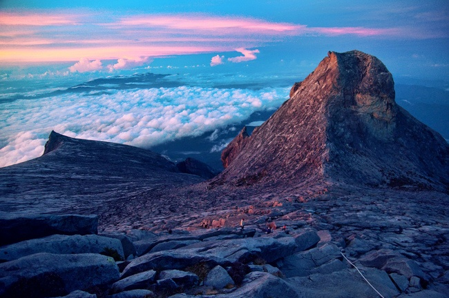 Low's Peak, Kota Kinabalu, Sabah, Malaysian Borneo. AFAR Highlight by Flash Parker #travel #Malaysia