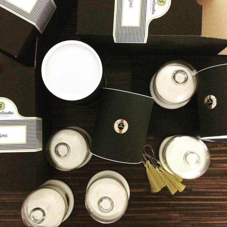Naturalne sojowe świece zapachowe www.pompomcandles.pl