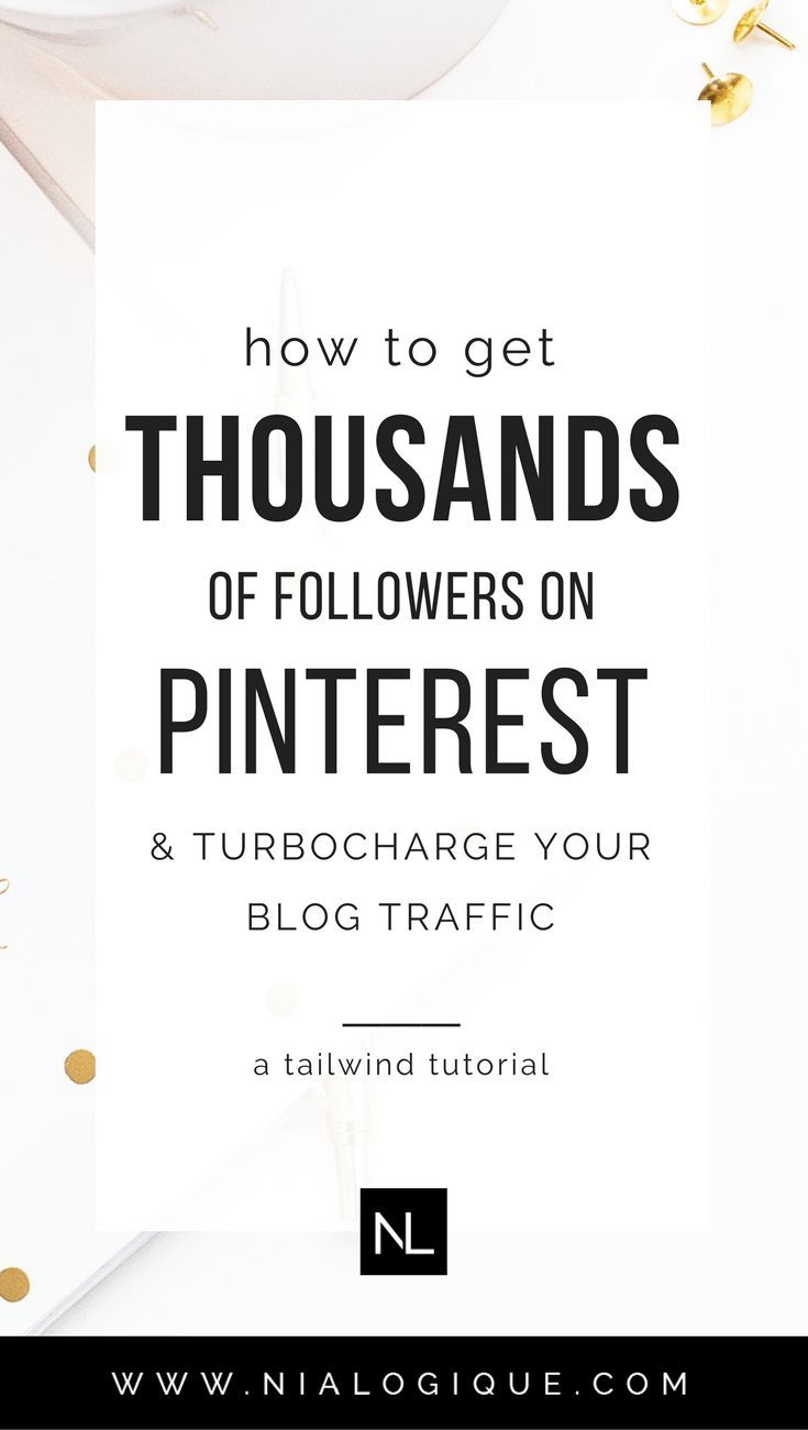 How To Get Thousands Of Followers on Pinterest & Turbocharge Your Blog Traffic: A Tailwind Tutorial | Click through to learn how to gain exposure as a blogger by scheduling your pins! blogging tips, work from home, Pinterest marketing, content marketing