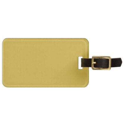 Create Own GOLD Monogram Photo Personalised Luggage Tag - monogram gifts unique custom diy personalize