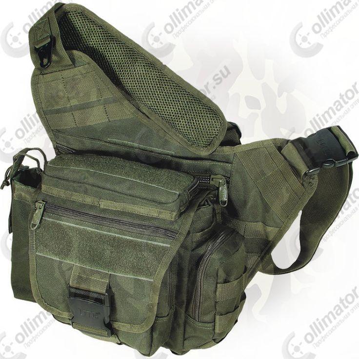 Тактическая сумка на плечо Leapers PVC-P218G (зеленая)