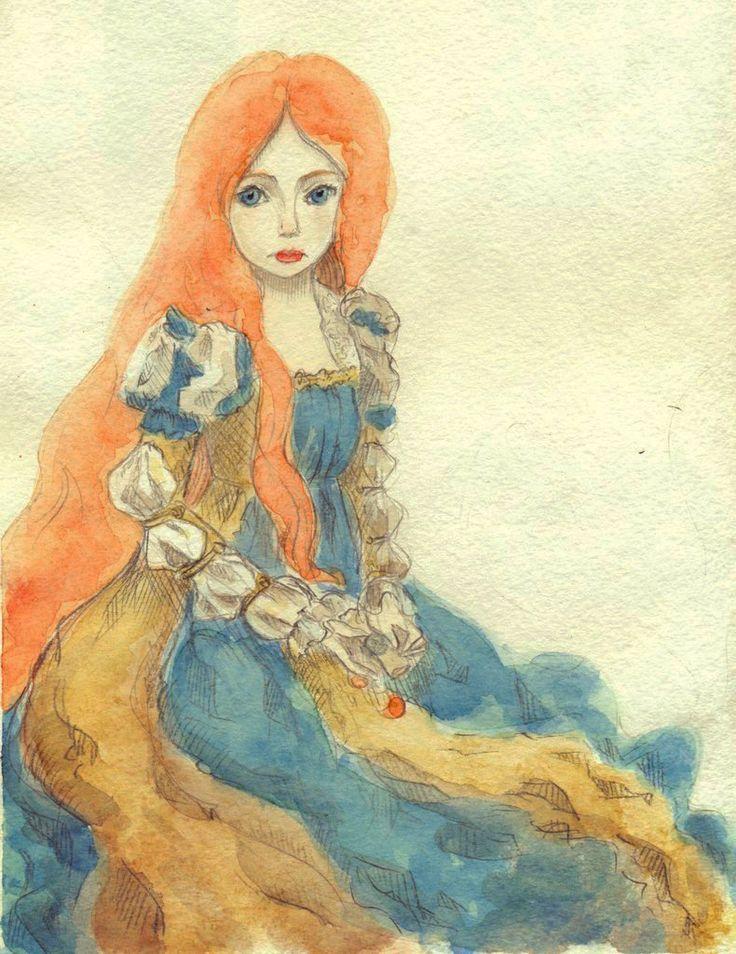 The Little Mermaid. Oreki Rea