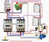 Esquemas eléctricos: LLenado de 2 tanques de agua con la misma bomba ce...