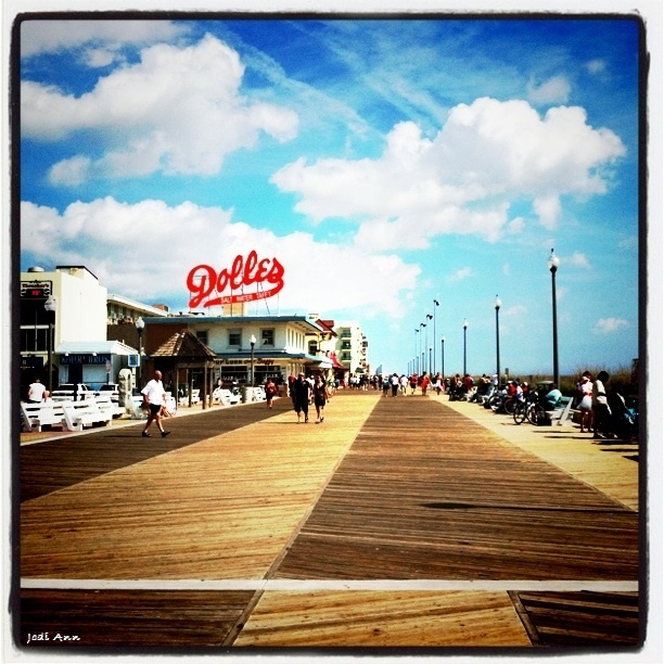 Rehoboth Beach, Delaware, USA.  One of my favorite East Coast beaches.  Love to vacation here.