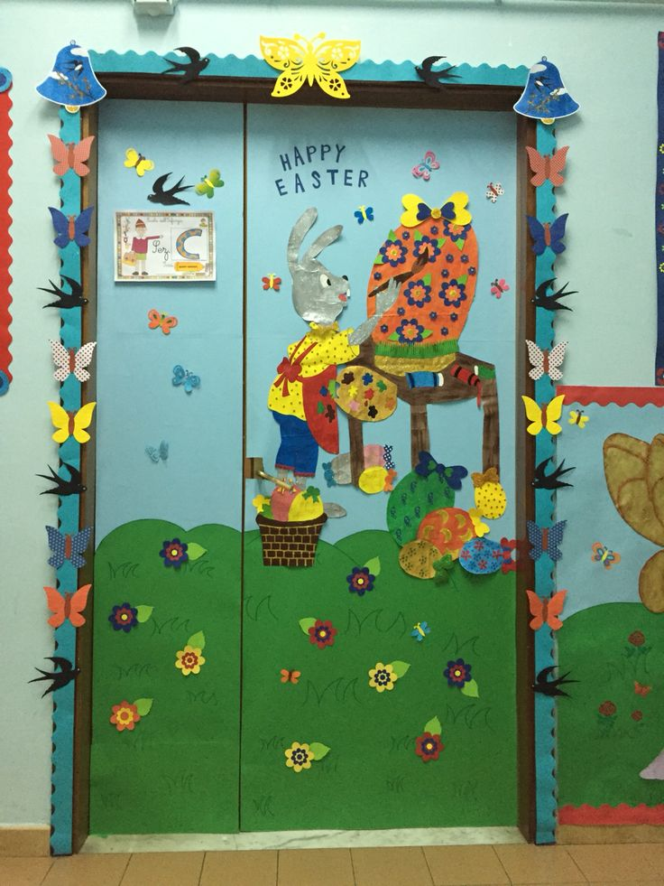 My classroom door for Easter by Giusy Cer