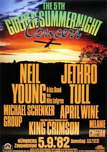Neil Young, Jethro Tull, King Crimson etc. - Nurnberg, Germany