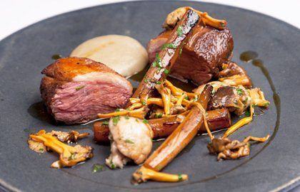 Lamb Rump with Salsify Recipe by Great British Chefs