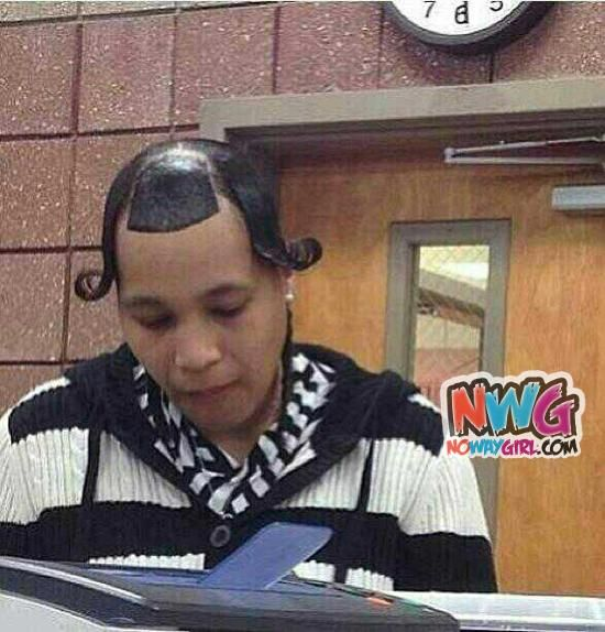 You Know Better! Ladies Can You Explain This Hairstyle? - NoWayGirl