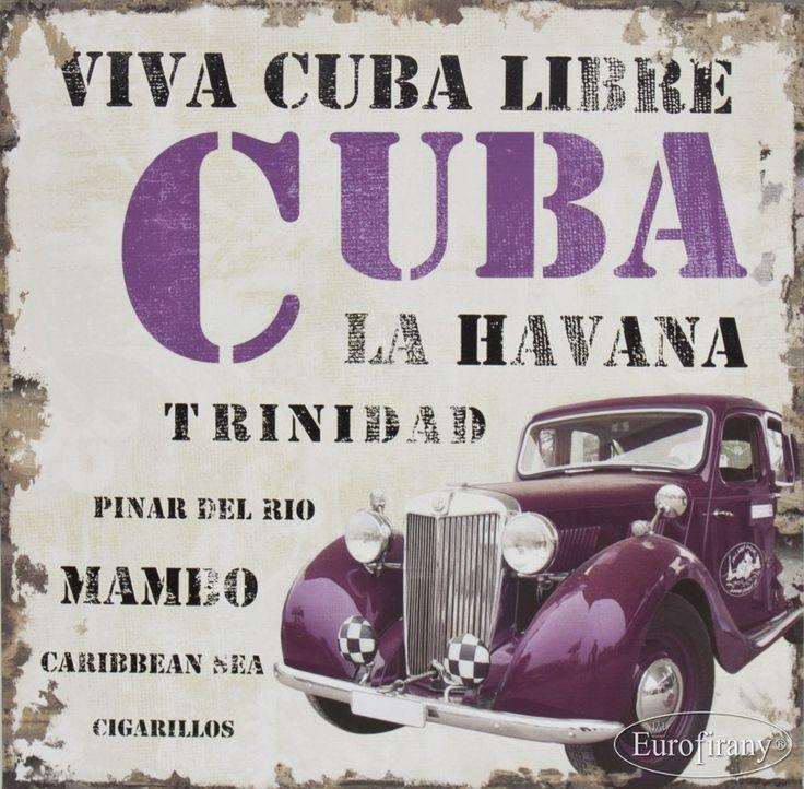 OBRAZ CUBA/1 60x60