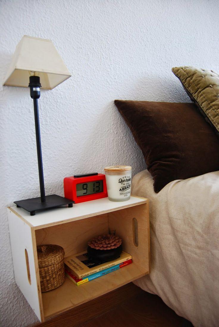 M s de 25 ideas incre bles sobre caja mesilla de noche en for Cajas de madera ikea