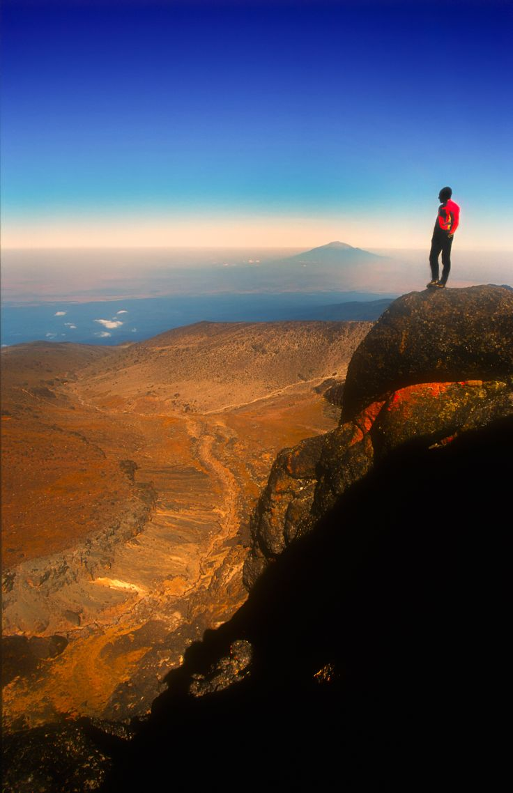See Africa from the peak of Mount Kilimanjaro: Embark on an 8 day journey through 4 climate zones to summit one of the Seven Sisters, the highest point in Africa, Uhuru Peak.