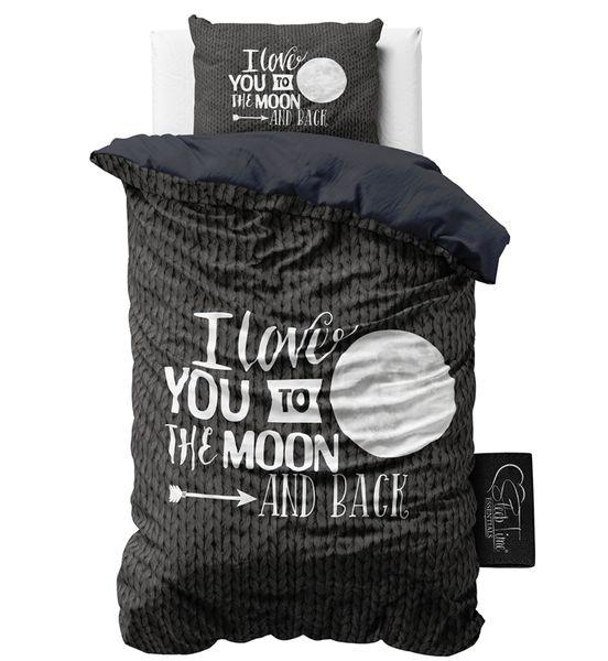 €27.90 Love Moon And Black Pussilakanasetti 140 x 200/220 | Tuplatikki Design