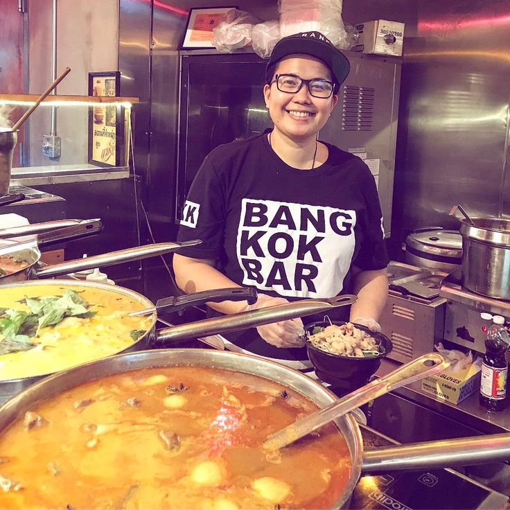 The best Thai food outside of Bangkok at #bangkokbarnyc in Gansevoort Market. Nathalie makes everything from scratch, including my favorite, massaman curry #NYC #thaicuisine #currytime http://w3food.com/ipost/1500946419708056859/?code=BTUbtD9l9Ub