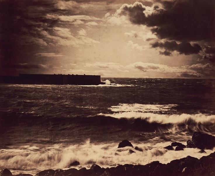 Gustave Le Gray  French, 1820–1884    The Great Wave, Sète, 1857