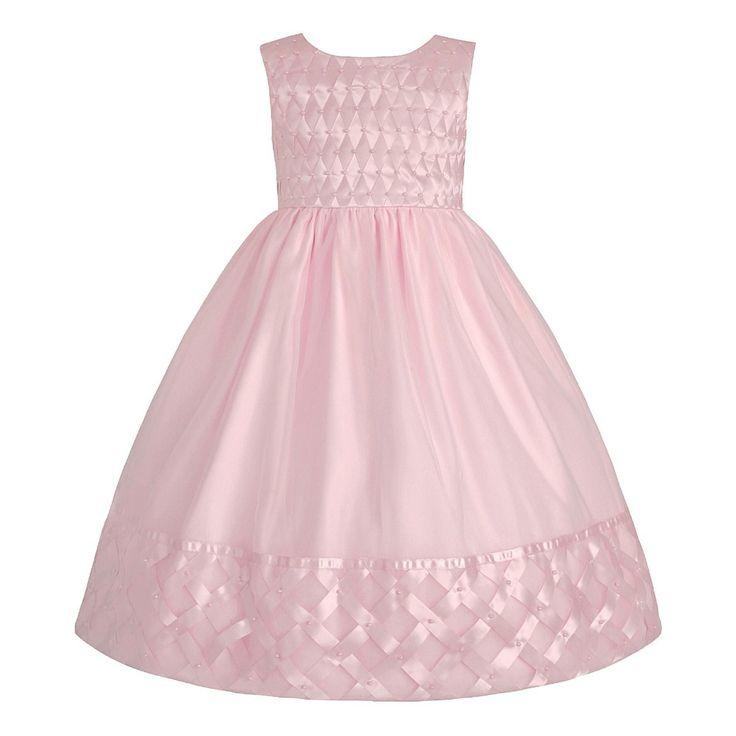 Vestido Infantil De Festa Princesa Rosa - Lindíssimo! - R$ 149,90 no MercadoLivre