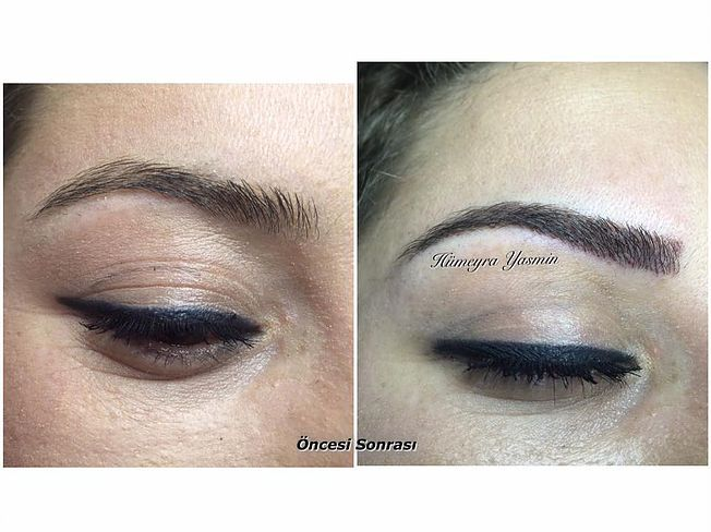 KalıcıMakyaj  Kaş Konturu  Dudak Konturu  Eyeliner