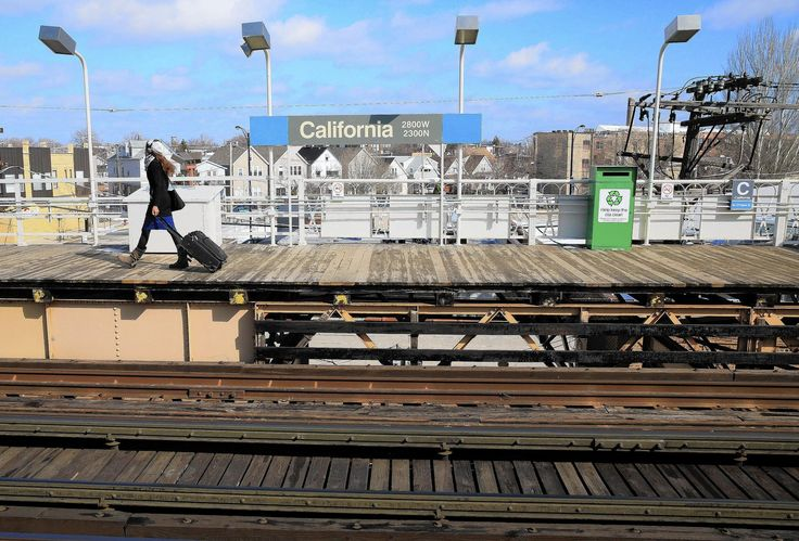 Blue+CTA+Stations | The Blue Line's California station is on the segment to be upgraded ...