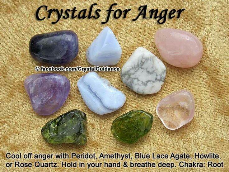 To rid yourself of anger...mmmm peridot!