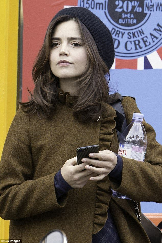 Saving her pennies! Jenna Coleman proved even celebrities are partial to a bargain or two ...