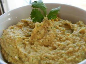 Hummus recept met koriander