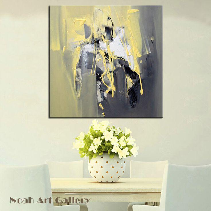 Incroyable abstrct mur art peinture sur toile 100 peint à la main par acrylique parfait
