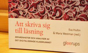 Bok om forsking om Skriva sig till läsning i Sandviken