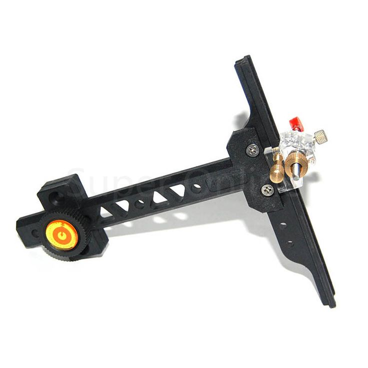 Recurve Bow Sight with PVC Material Hunting Target Shooting Archery Chasse Bow Sight Accessories, Height 16cm Length 15cm