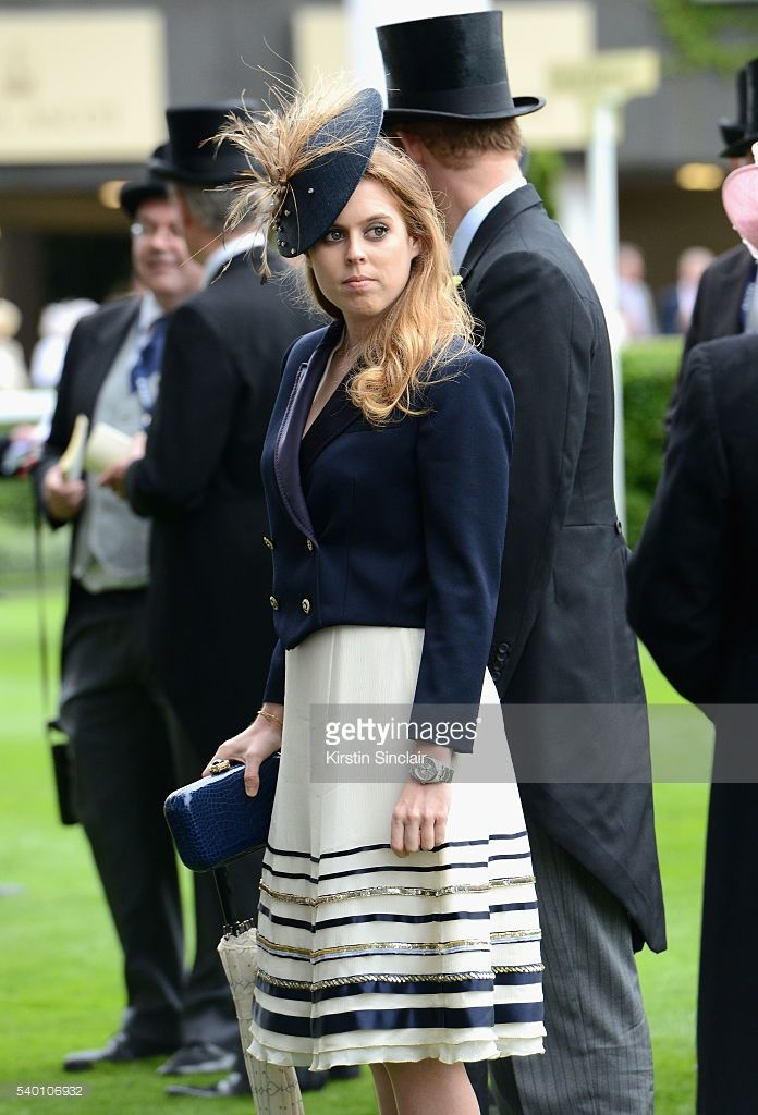 Princess Beatrice of York attends day 1 of Royal Ascot at Ascot Racecourse on June 14, 2016 in Ascot, England.  (Photo by Kirstin Sinclair/Getty Images for Ascot Racecourse)