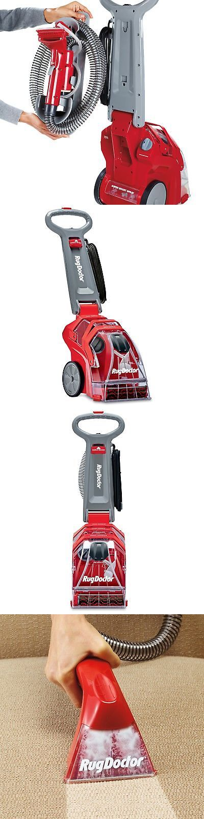 Carpet Shampooers 177746: Rug Doctor Deep Carpet Cleaner, Electric Portable Vacuum W Upholstery Tools New -> BUY IT NOW ONLY: $267.09 on eBay!
