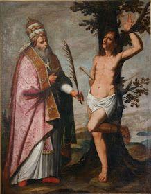 Anonyme Massa scuola lunigianese,  SS. Fabiano e Sebastiano (XVII sec.), Massa Carrara-Pontremoli, museo diocesano.