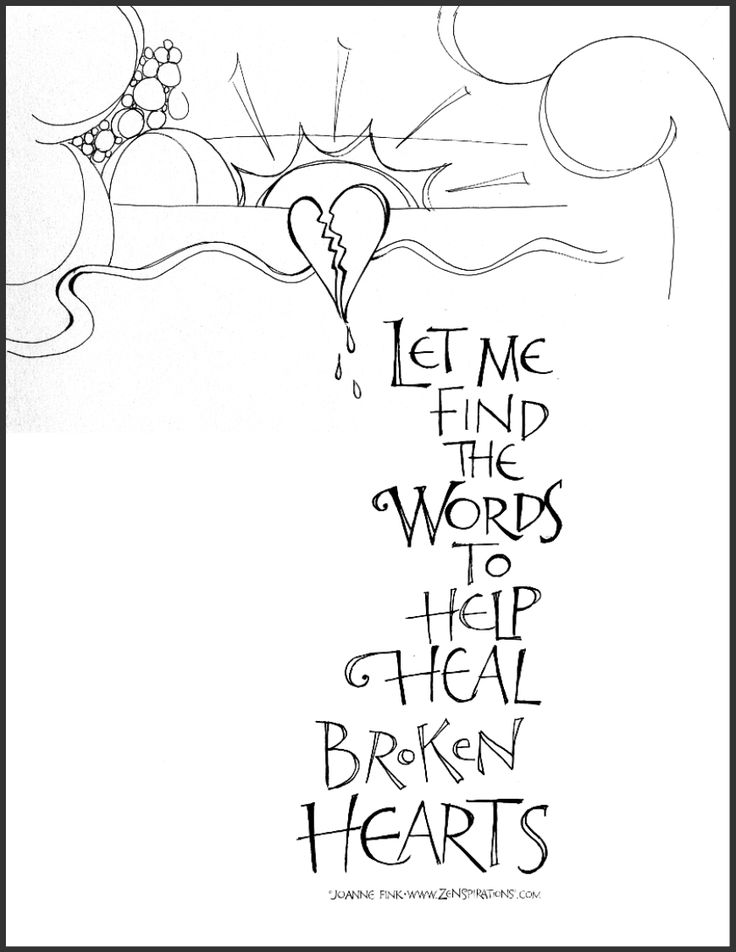 coloring pages on grief - photo#21