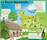 Educational infographic : La Basse-Normandie  Le Petit Quotidien le seul site d'information quotidie