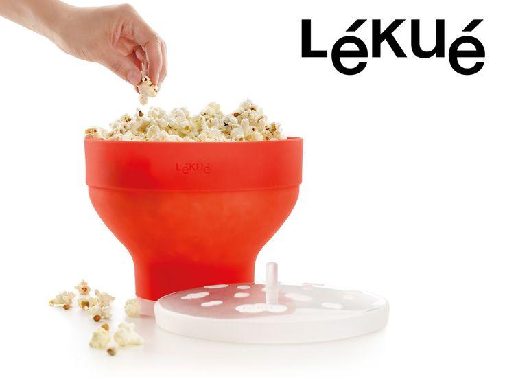 Popcorn Microskål – gör kastrullpoppade popcorn i micron!