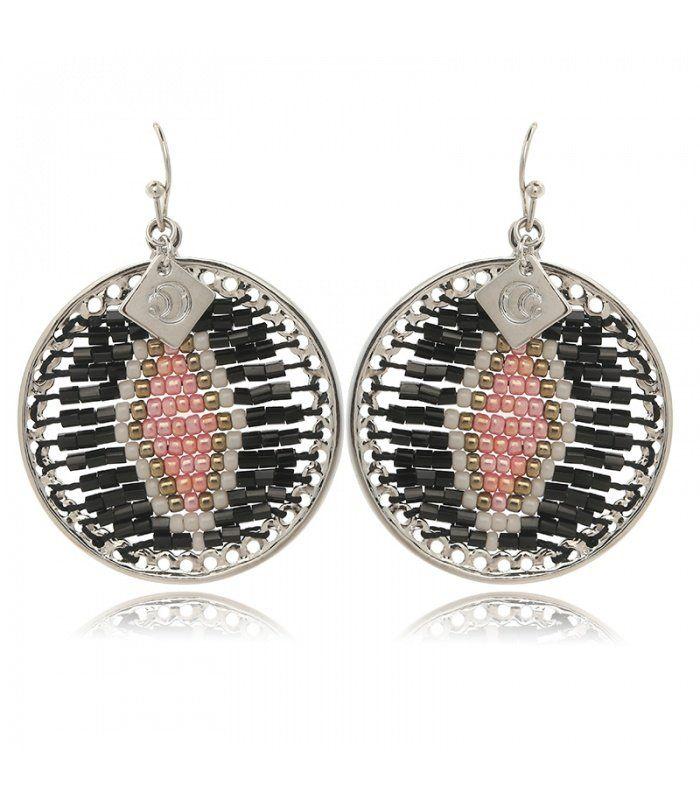 Paarse lange boho chique oorbellen Paarse lange oorbellen koop je online Snelle levering   Yehwang fashion en sieraden