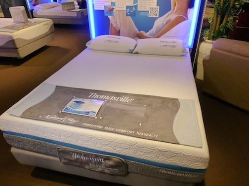 Boyd Specialty Sleep Thomasville Momentum Mattress Has Poured Gel Over Infused Memory Foam In