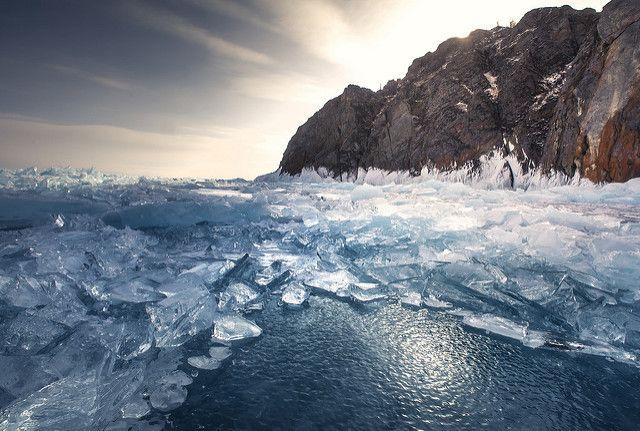 Lake Baikal, near Olkhon Island, Russia