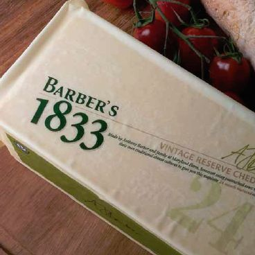 Barber's 1833 2 Year Vintage Reserve English Cheddar