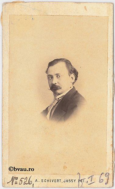 """F. Boian, Iași. Imagine din colecțiile Bibliotecii """"V.A. Urechia"""" Galați."""